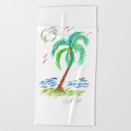"""Beach Afternoon"" Beach Towel"