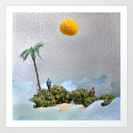 High-O-Rama Series: Two's Company Art Print