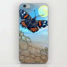 Last Flight of the Red Admiral Butterfly iPhone & iPod Skin