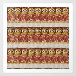 The Smoking Owl Art Print