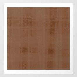 Copper Organza Art Print