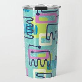 Mid Century Modern Abstract Pattern 735 Travel Mug