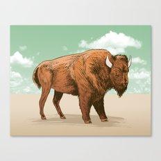 Buffalo Sky Canvas Print