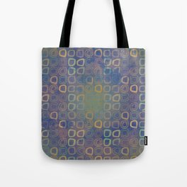 Vintage squares Tote Bag