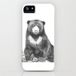 Malayan Sun Bear (Beruang Madu) iPhone Case