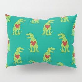 T-rex Love Pillow Sham