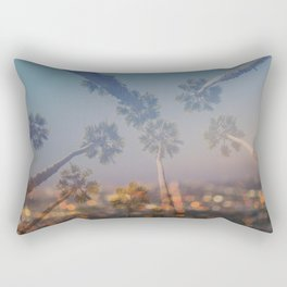 Postcard from L.A. Rectangular Pillow