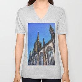 St Giles Cathedral Edinburgh Unisex V-Neck