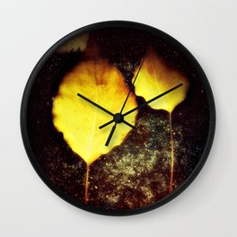 I'll be your leaf  Wall Clock