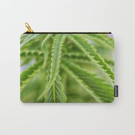 Weed Love 420 Marijuana plant photograph Carry-All Pouch