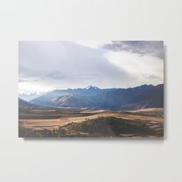 The Sacred Valley of the Incas Metal Print