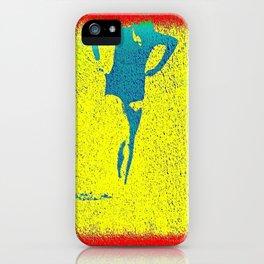 Woman Emerging (i) iPhone Case