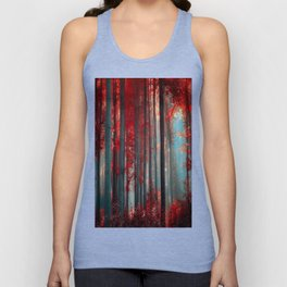 Magical trees Unisex Tank Top
