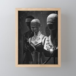 Don't Undress Framed Mini Art Print