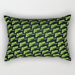 Lime | Lettering Rectangular Pillow
