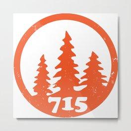 715 Tomahawk Metal Print