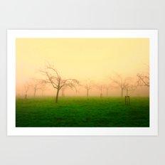 Morning Fog  - JUSTART © Art Print