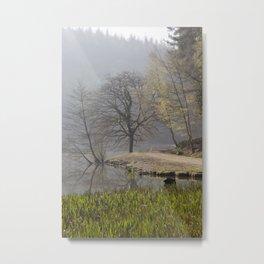 Misty Pike Metal Print
