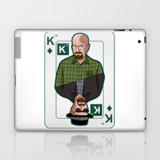 Breaking Bad: Walter White vs Heisenberg on a poker card Laptop & iPad Skin