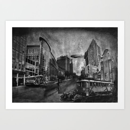 MTS Centre Art Print