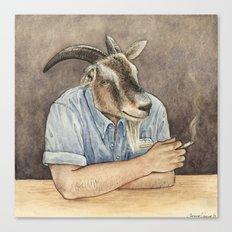 Goat Dad II Canvas Print