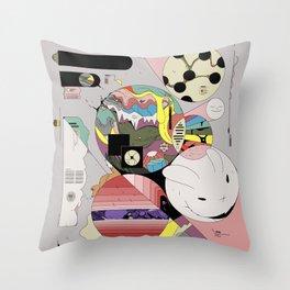 Spiteful Happy Throw Pillow