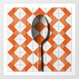 Cucina II Art Print