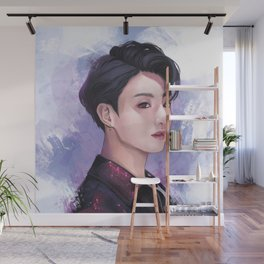 Fake Love Wall Mural