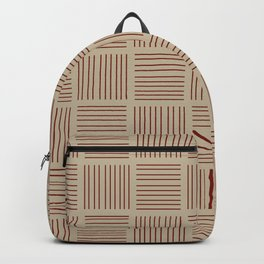 Spirit Desert Stripe - Red Backpack