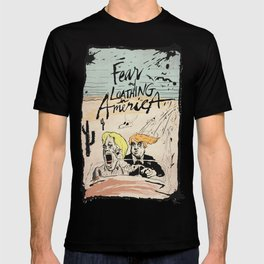 FEAR and LOATHING in AMERICA T-shirt