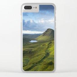 The Trotternish Ridge Clear iPhone Case