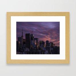 Summer in the 6ix Framed Art Print