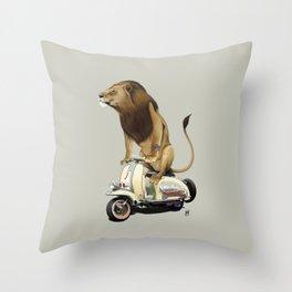 Lamb (Colour) Throw Pillow