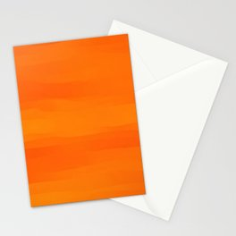 Warm Orange Marmalade Stationery Cards