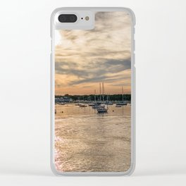Hyannis sunset Clear iPhone Case