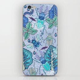 Frozen bugs in the garden iPhone Skin
