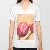 romance V-neck T-shirts featuring Romance by Elizabeth Wilson Photography