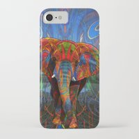 elephant iPhone & iPod Cases featuring Elephant by Waelad Akadan