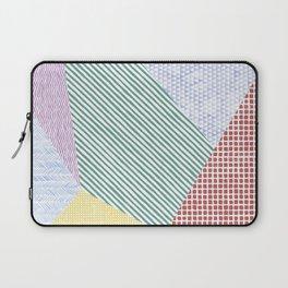 Chalk Patterns Laptop Sleeve