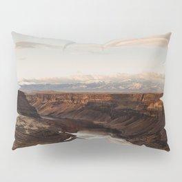 Snake River, Idaho - Scenic Desert Canyon Pillow Sham