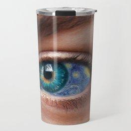 Art In Your Eyes Travel Mug