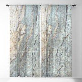 Eucalyptus Tree Bark 9 Sheer Curtain