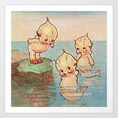 Mermaids Art Print