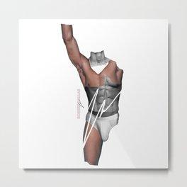 HANDSOME LIFT BY ROBERT DALLAS Metal Print