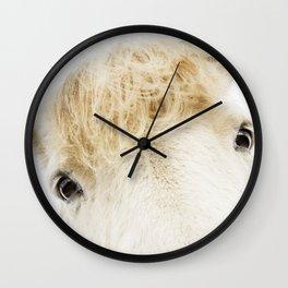 Silver Bullet - Icelandic horse Wall Clock
