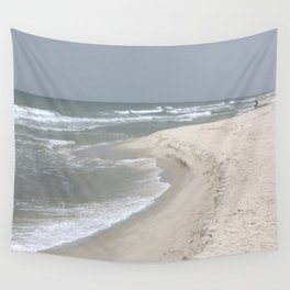 Stormy Ocean water Wall Tapestry
