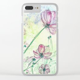 Blossoms and Air Clear iPhone Case