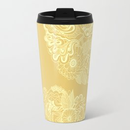 Circle (yellow) Travel Mug