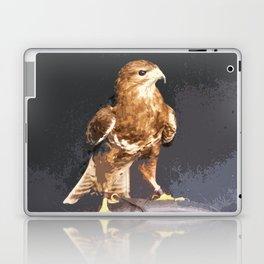 Bold Golden Eagle, Bird of Prey print Laptop & iPad Skin