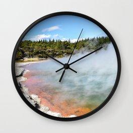 Wanaka, New Zealand Wall Clock
